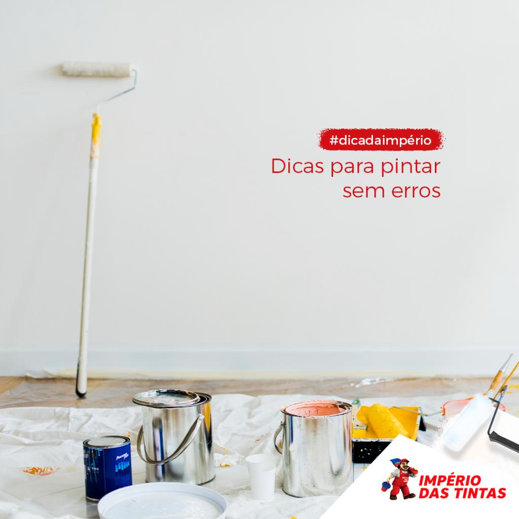 Você mesmo pode pintar suas paredes, mas para isso, precisa estar bem preparado(a).