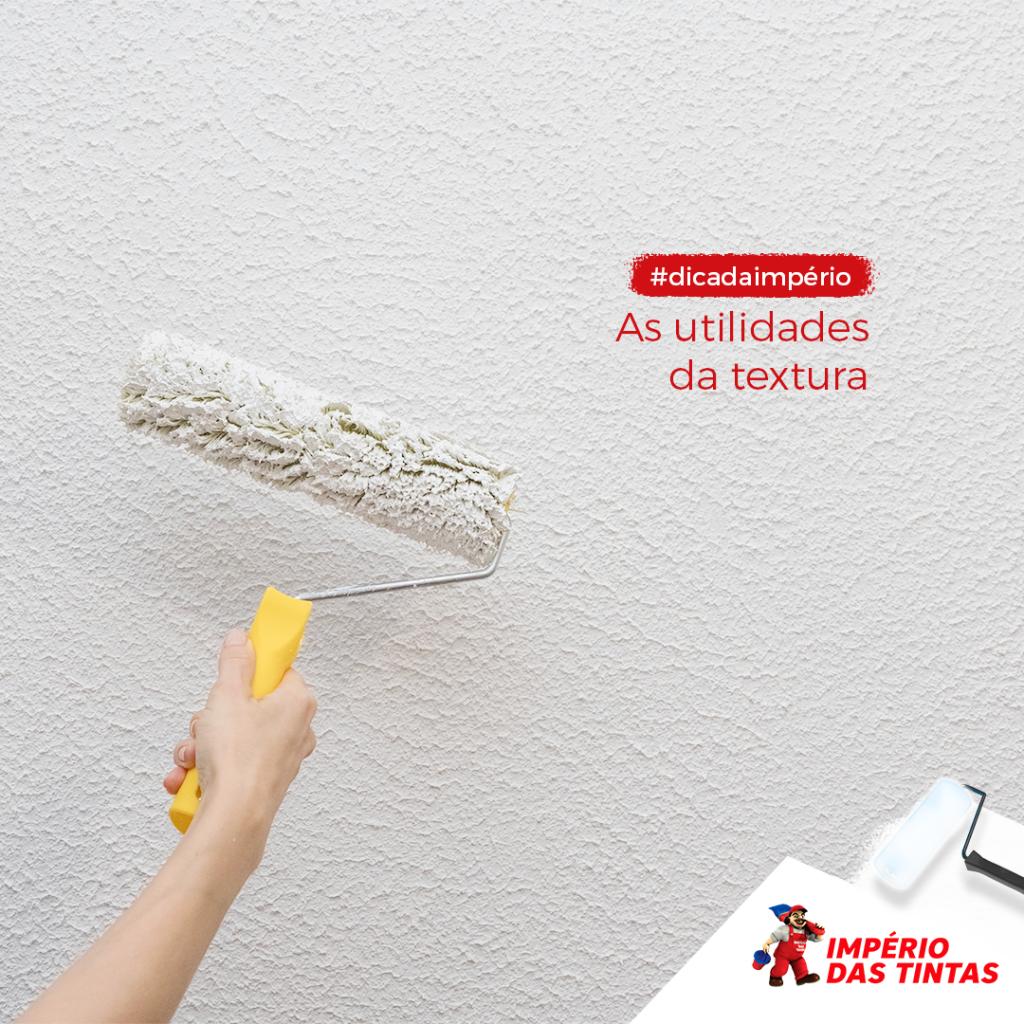 Muitos pensam que a textura na parede se trata apenas de um recurso decorativo, mas ela também tem outras utilidades.