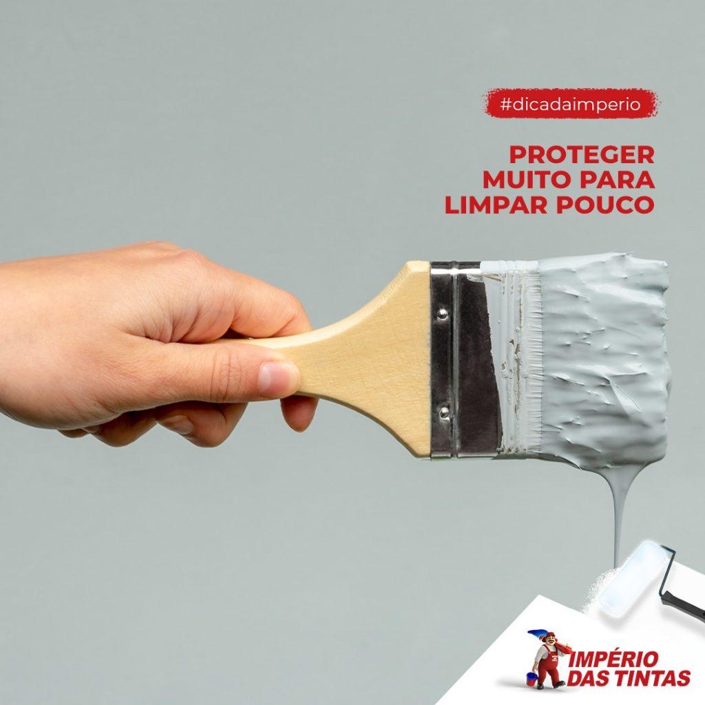 Proteger muito para limpar pouco