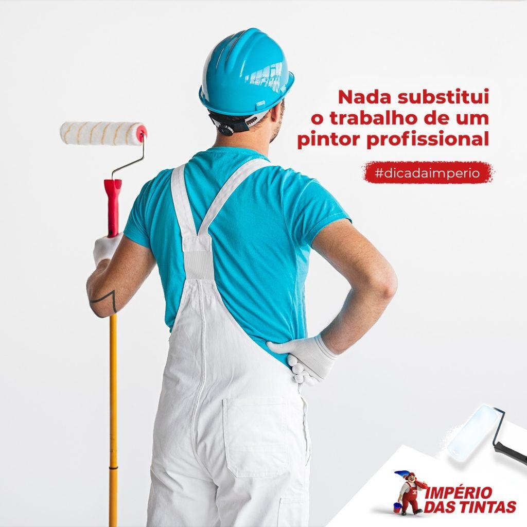 Nada substitui o trabalho de um pintor profissional